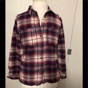 Charlotte Russe Flannel Shirt - M